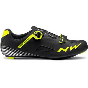 Northwave Core Plus Shoes Men black/yellow fluo